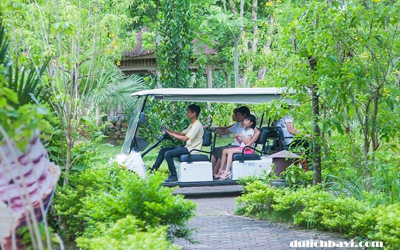 Tour nghỉ dưỡng Tản Đà resort 1 ngày - trọn vẹn niềm vui