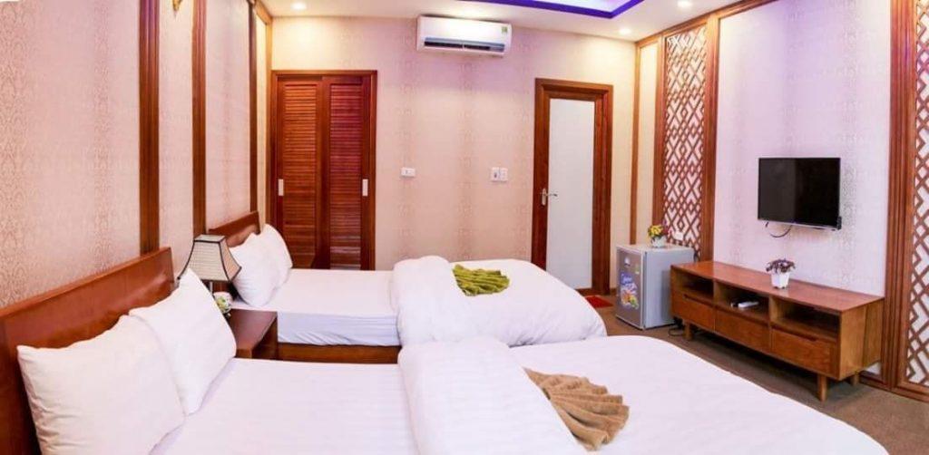 PHòng khách sạn khu du lịch long Việt
