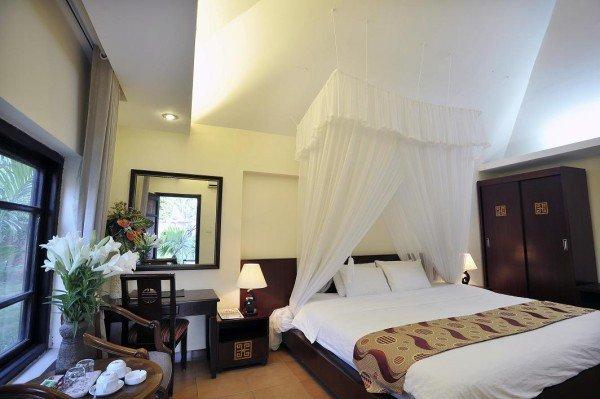 Phòng ngủ- Resort Ba Vì giá rẻ