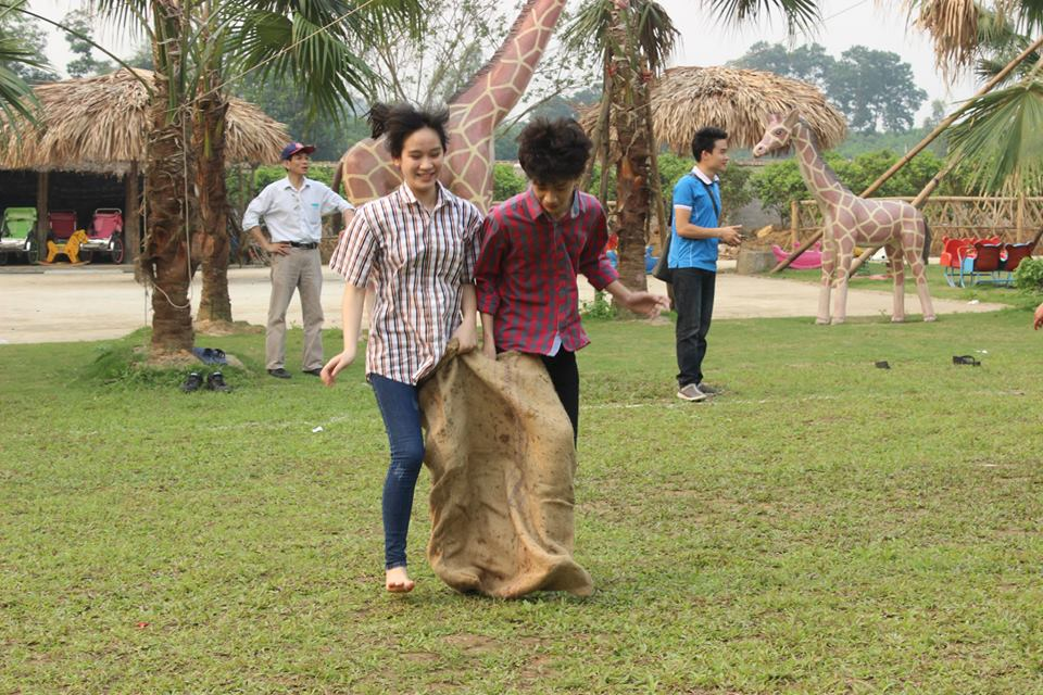 Nhảy bao bố tại Long Việt