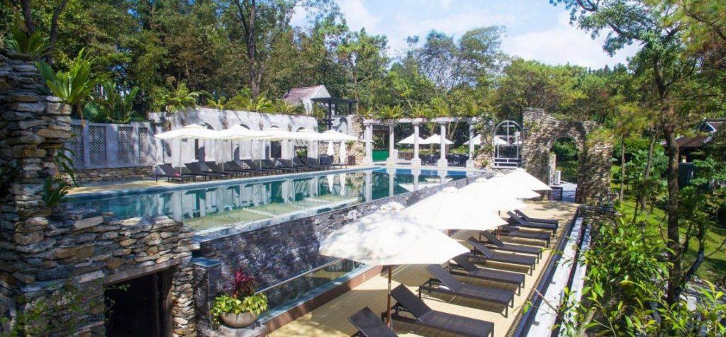 review resort gần hà nội