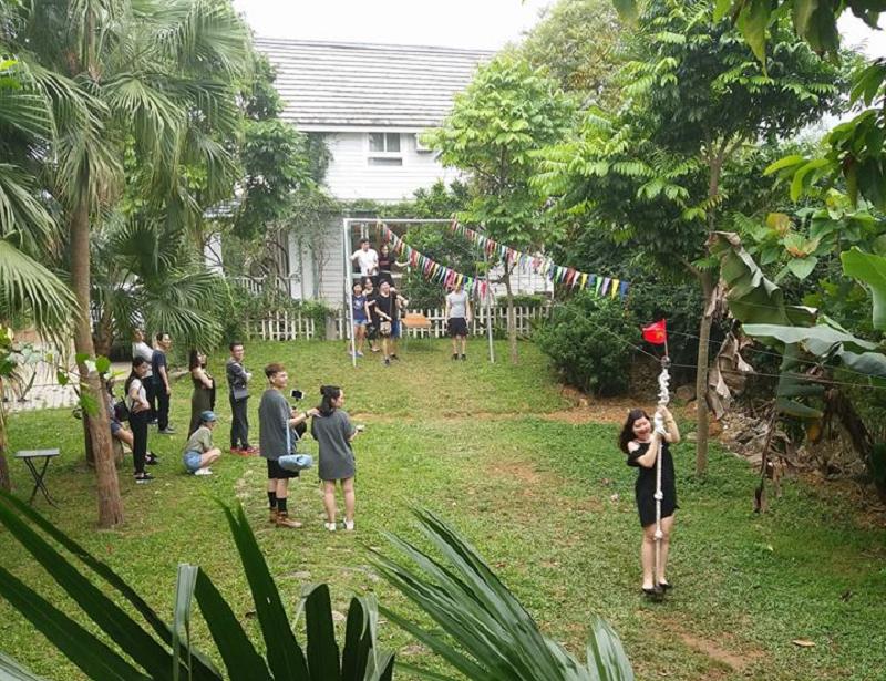 resort có khu vui chơi trẻ em gần hà nội